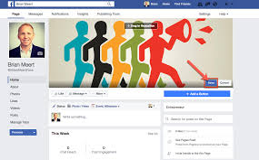 how to upload a cover photo to your facebook fan page advertisemint