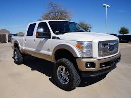 lifted nissan frontier white off road ready used 2012 ford f250 6