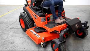kubota zd u0026 zg mower deck lift youtube