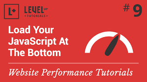 website performance tutorial 9 load your javascript at the