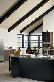 kitchen fabulous white appliances with dark cabinets gray
