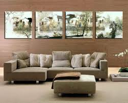 pictures for dining room walls cream and brown living room ideas tv wall two tone paint idolza