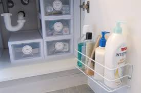 bathroom under cabinet storage home designs idea