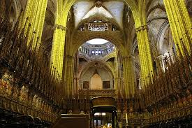 Cathedral Interior Barcelona Cathedral The Most Beautiful Cathedrals Of Spain