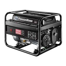 shop powerboss 2500 running watt portable generator with briggs