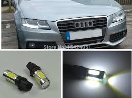 audi a4 headlight bulb aliexpress com buy 2x xenon white p13w led bulbs daytime running