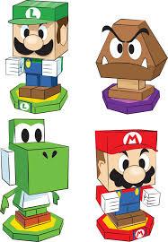 pre order mario u0026 luigi paper jam gamestop paper craft