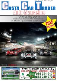 cct july 2015 by costa car trader issuu