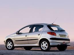 peugeot 206 5 doors specs 2002 2003 2004 2005 2006 2007