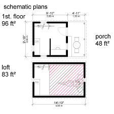 loft cabin floor plans cabin plans with construction process complete set of plans