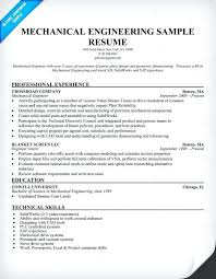 sample resume of civil engineering fresher mechanical engineering