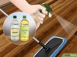 is it safe to use vinegar on wood cabinets 3 ways to clean hardwood floors with vinegar wikihow