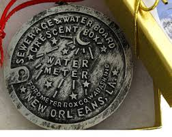 new orleans water meter necklace new orleans water meter etsy