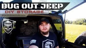 survival truck diy bug out jeep diy storage b o v preparedness mask tactical