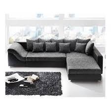 canapé d angle noir et gris canapé d angle convertible river noir gris achat vente canapé