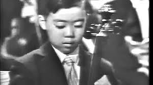Jfk S Son Leonard Bernstein Presents 7 Year Old Yo Yo Ma U0027s High Profile