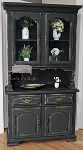 black distressed china cabinet u2026 pinteres u2026