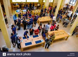 france paris apple store stock photo royalty free image 82076895