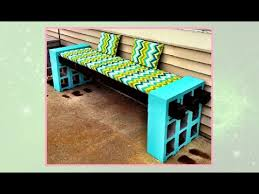 how to make a cinderblock bench diy projects youtube