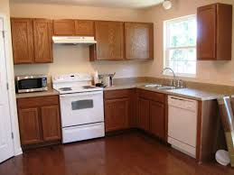 kitchen kitchen colors with dark brown cabinets trash cans all