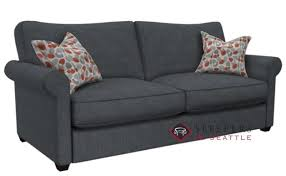quick ship 225 queen fabric sofa by stanton fast shipping 225