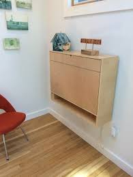 Wall Desk Folding by How To Build A Compact Fold Down Desk For Small Spaces Custom