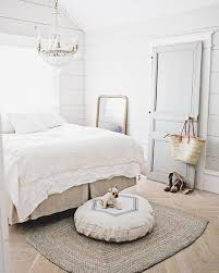 white bedroom decor farmhouse style shabby chic bedding guest