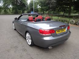 used bmw 3 series convertible 2 0 320d m sport 2dr in glasgow