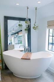 Alegna Bathtubs by This Inspiration For This Transitional White Bathroom Was A