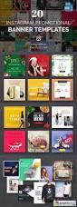 20 instagram banner templates free download vector stock image