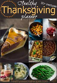healthy thanksgiving planner thursday things healthy seasonal