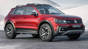volkswagen truck concept the volkswagen tiguan gte active concept looks like it could kick