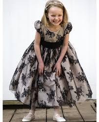 black lace kids prom dresses 2017 cheap cute flower dresses