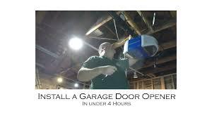 Chamberlain Garage Door Opener Instruction Manual by How To Install Garage Door Opener Chamberlain Wifi Control Myq