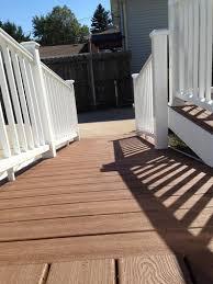 affordable decks certified trex deck contractor installer lombard