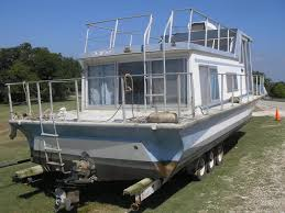 a typical nautaline houseboat on a trailer i have a 1968 33