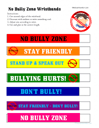 no bullying activities posters certificates worksheets