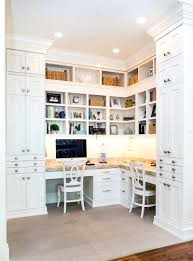 White Inset Kitchen Cabinets by Custom Home Office Built Ins Floor To Ceiling 10 Ft Frameless