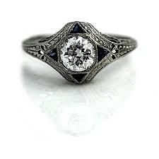 alternative wedding rings the at vintagediamondrings alternative engagement rings
