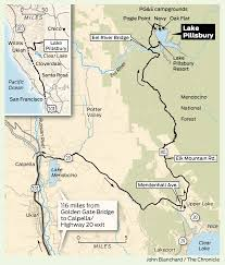 Chico State Map Sunday Getaway Lake Pillsbury A Hidden Gem In Mendocino National
