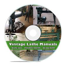 lathe owners manuals instructions parts list atlas monarch