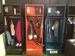 add locker storage for gear and sports equipment this keeps