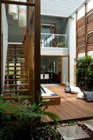 courtyard designs and outdoor living spaces sustainable building means interiors outdoor living decking