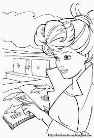 11 barbie coloring pages images barbie