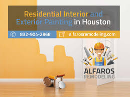 residential interior and exterior painting in houston