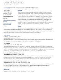 professional marketing resume joe giovino resume integrated multi channel marketing professional