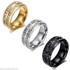 verlobungsring zirkonia damen ring zirkonia kristall strass luxus verlobungsring edelstahl