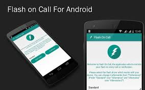 call for android flash on call notification apk free tools app for