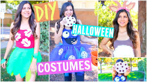 diy last minute halloween costumes easy u0026 cheap 2016 youtube