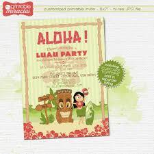hawaiian tiki invitation printable luau from myprintablemiracles